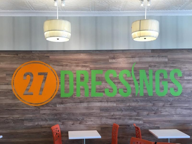 27 Dressings